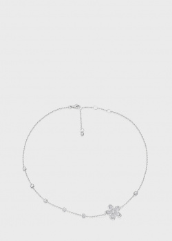 Колье Art Vivace Jewelry Сирень из белого золота, фото