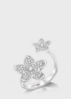 Кольцо Art Vivace Jewelry Сирень из белого золота, фото