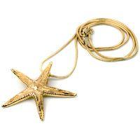 Колье Ester Bijoux Морская звезда в золоте, фото