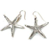 Серьги Ester Bijoux Морская звезда в серебре, фото