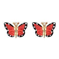 Серьги Roberto Bravo Monarch Butterfly с бабочками, фото