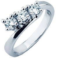 Помолвочное кольцо Mirco Visconti с белыми бриллиантами, фото