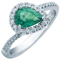 Перстень Mirco Visconti с изумрудом, фото
