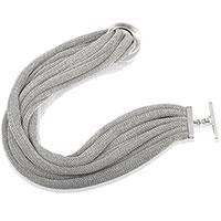 Ожерелье Adami & Martucci из серебряной ткани, фото