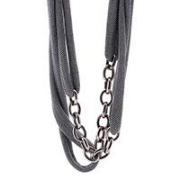 Ожерелье из серебра Adami & Martucci с цепочками, фото