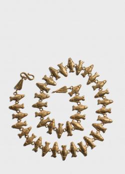 Ожерелье rockah. Skolotoi в виде фигурок рыб, фото
