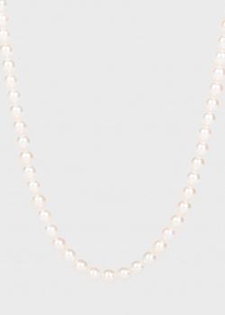 Ожерелье Yamagiwa из белого жемчуга, фото