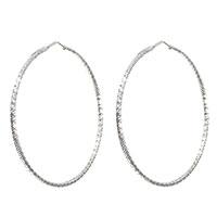 Серьги-кольца Fraboso из серебра, фото