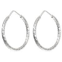 Серьги Fraboso с декором-спиралью из серебра, фото