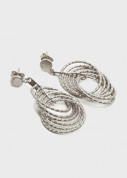 Объемные серьги Fraboso из серебра, фото