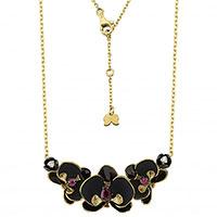 Колье Roberto Bravo Black Orchid-N с подвеской-цветком, фото
