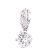 Золотой кулон Оникс с бриллиантами, фото