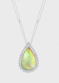 Колье с опалом Art Vivace Jewelry Opal в виде капли, фото