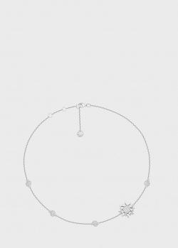 Колье Art Vivace Jewelry Рождественская звезда из белого золота, фото
