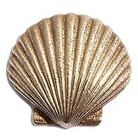 Подвес пристегной к базе rockah. Siren's Treasures Shell из ювелирной бронзы с позолотой, фото