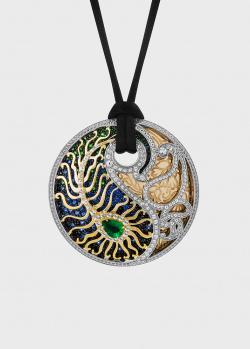 Кулон Art Vivace Jewelry Pari&Shah Павлин в виде пера, фото