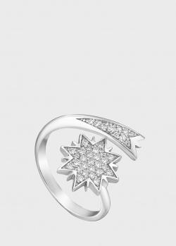 Кольцо Art Vivace Jewelry Рождественская звезда с бриллиантами, фото