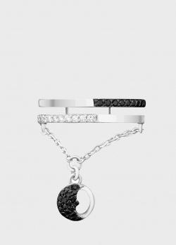 Кольцо Art Vivace Jewelry  День и ночь из белого золота, фото