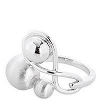 Серебряное объемное кольцо Elisabeth Landeloos, фото