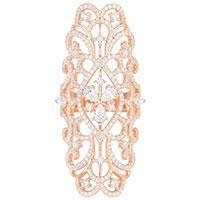 Кольцо APM Monaco Glamour золотистого цвета, фото