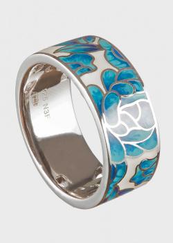 Серебряное кольцо Roberto Bravo Kaleidoscope с узором, фото