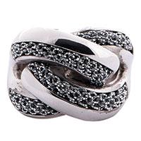 Крупное кольцо Adami & Martucci в виде переплетов, фото