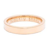Мужское кольцо Roberto Bravo Amore Infinito золотое, фото