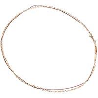 Золотая цепь Roberto Bravo с плотным якорным плетением средней длины, фото