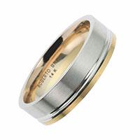 Обручальное кольцо Roberto Bravo Amore Infinito золотое, фото