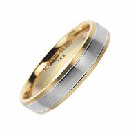 Мужское обручальное кольцо Roberto Bravo Amore Infinito золотое, фото