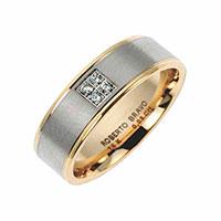 Обручальное кольцо Roberto Bravo Amore Infinito из желтого золота , фото