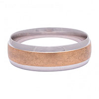 Обручальное кольцо Roberto Bravo Amore Infinito из белого золота , фото