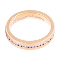 Обручальное кольцо Roberto Bravo Amore Infinito с бриллиантами, фото