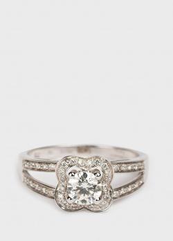 Золотое кольцо Mauboussin Chance of Love с белыми бриллиантами, фото