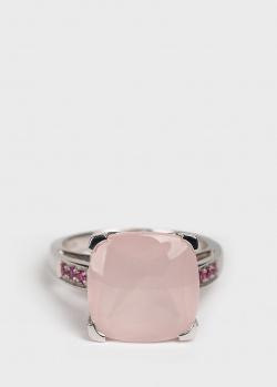 Золотое кольцо Mauboussin Gueule d'Amour с розовыми сапфирами, фото
