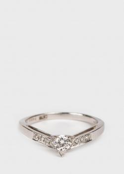 Кольцо с бриллиантами Mauboussin из белого золота, фото