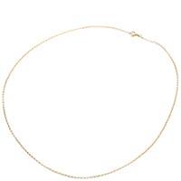Короткая тонкая золотая цепь Roberto Bravo с якорным плетением, фото