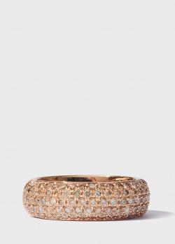 Кольцо Antonellis с бриллиантовой дорожкой (1,26ct), фото