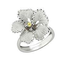 Кольцо Roberto Bravo Soul Dance с цветком, фото
