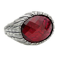 Перстень Thomas Sabo с красным камнем, фото