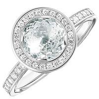 Женское кольцо Thomas Sabo с белыми цирконами, фото