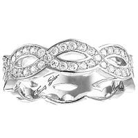 Помолвочное кольцо Thomas Sabo с цирконами, фото