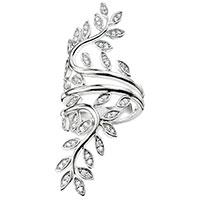 Широкое кольцо Thomas Sabo с листиками, фото