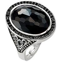 Женское кольцо Thomas Sabo с ониксом, фото