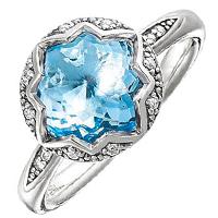 Коктейльное кольцо Thomas Sabo со шпинелью, фото