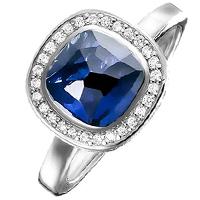 Женское кольцо Thomas Sabo с корундом, фото
