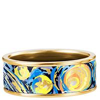 Кольцо Freywille Miss Бесконечность Винсент Ван Гог с позолотой, фото