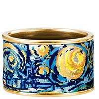 Кольцо Freywille Diva Бесконечность Винсент Ван Гог с позолотой, фото