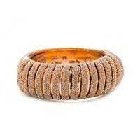 Широкое кольцо Pesavento Sensitive с карбоновой крошкой, фото