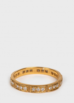Золотое кольцо Mauboussin с бриллиантами 0,31 карат, фото